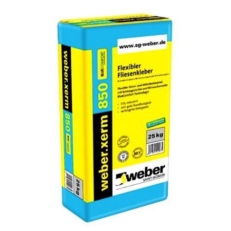 fliesenkleber mischverhältnis weber xerm 850 bluecomfort fliesenkleber ist ein flexibler