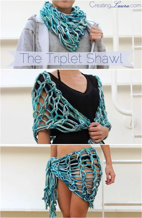 how to finish finger knitting a scarf 33 best arm knitting images on knitting