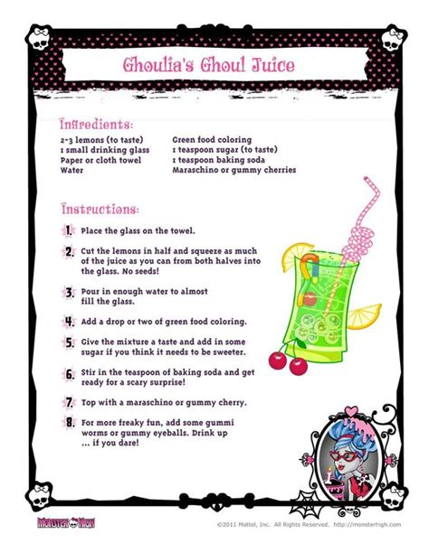 printable recipes for juicing juice and recipe on pinterest