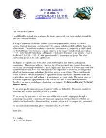 Sponsorship Letter Exles For Athletes Athlete Sponsorship Letter Sle