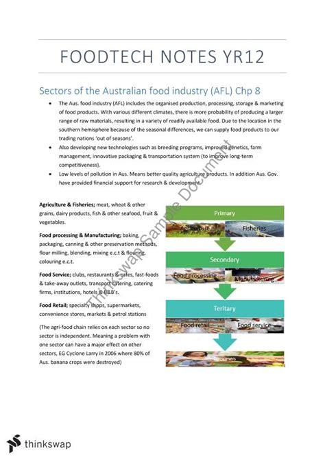 design brief hsc australian food industry and policy legislation year 12