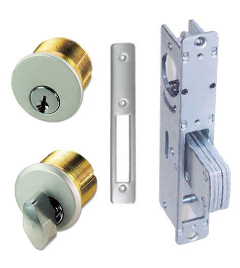 Door And Deadbolt Sets by Storefront Door Mortise Deadbolt Lock Sets Brass