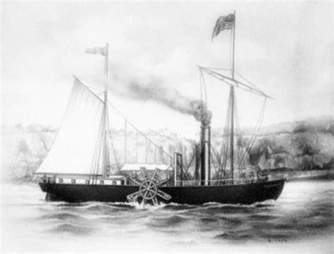 barco de vapor 1787 john fitch linea del tiempo quot medios de transporte quot timeline