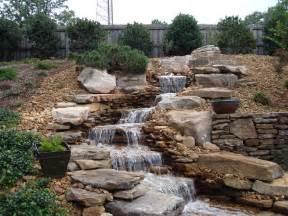 fountains for backyards backyard rock water fountains design ideas