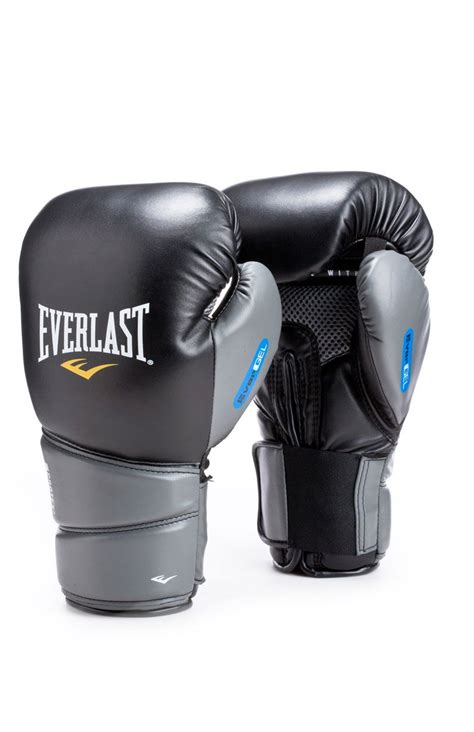 Everlast Protex 2 Boxing Gloves Muay Thai everlast 174 16 oz protex2 evergel gloves