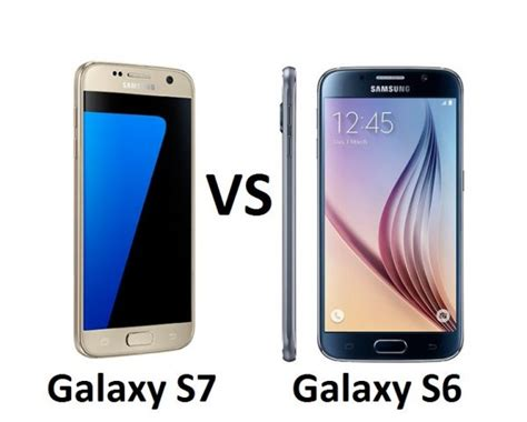 Samsung Galaxy S7 Vs S6 Samsung Galaxy S7 Vs Samsung Galaxy S6 What S The Difference
