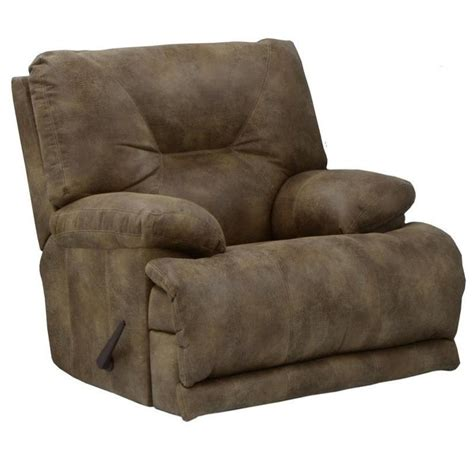 flat reclining chair catnapper voyager lay flat recliner in brandy