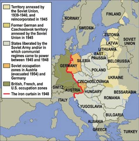 iron curtain in a sentence the devastation of europe and japan world war ii