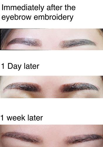 eyebrow embroidery review singapore jacquelinekoh