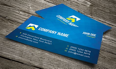 Cool Photshop Template Business Cards by Cool Creative Business Card Template 187 Free 187 Cv00002
