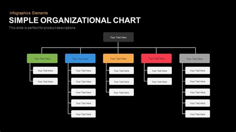 simple organizational chart slidebazaar