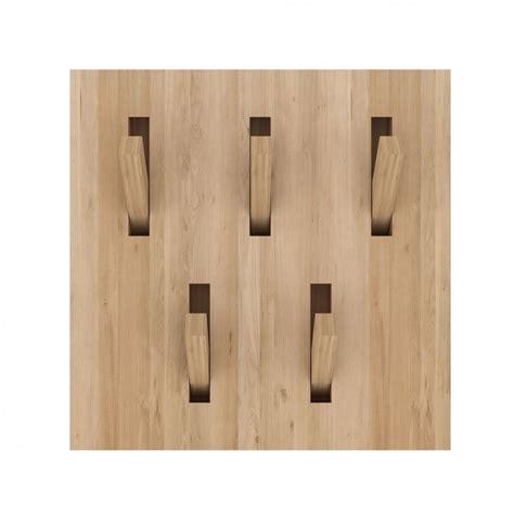 appendiabiti da porta utilitle h appendiabiti da parete ethnicraft in legno