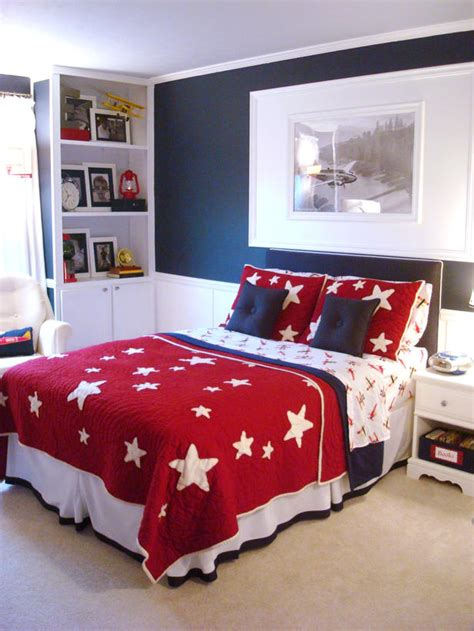 red and blue bedroom kids storage and organization ideas that grow kids room
