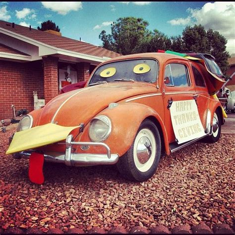Vw Turkey Happy Thanksgiving Vw Inspired Pinterest