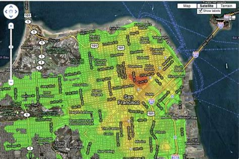 san francisco map crime padblogger on the development and news of padmapper the