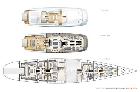 sailing yacht layout philippe briand desinged sailing yacht vertigo 220