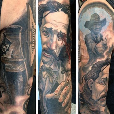 western tattoos for men 90 cowboy tattoos for west designs