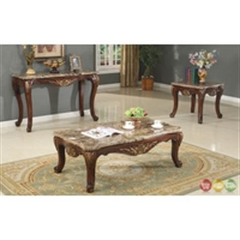 antique marble table ls antique style traditional formal living room furniture set