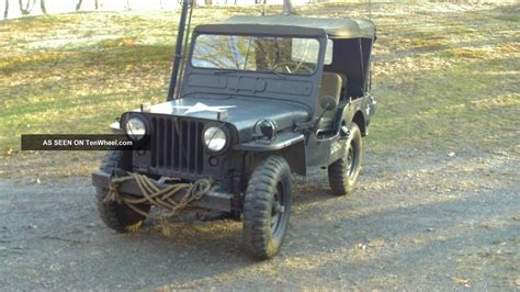 1951 Willys Jeep 1951 Willys Jeep
