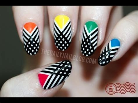 tutorial nail art striping have i crossed the line nail art tutorial striping tape