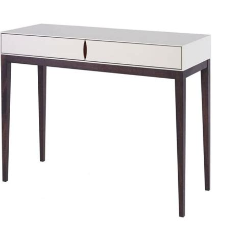 Slim Console Table Buy Luxurious Ivory White Slim Console Table From Fusion Living