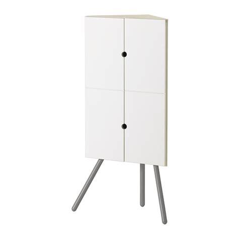 ikea ps 2014 corner cabinet white gray ikea
