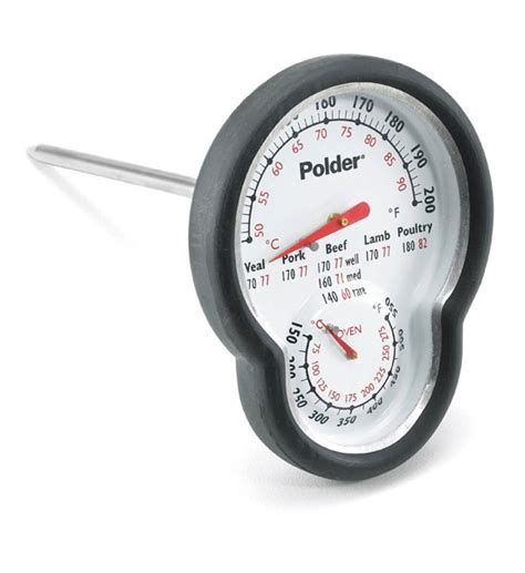 Termometer Oven dual and oven thermometer with silicone grip in cooking thermometers