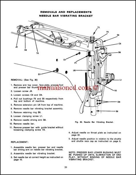 singer sewing machine parts diagram singer 237 service and repair manual 35 pages of