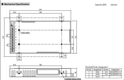 Power Supply Well Rsp 200 well rsp 200 power supply 12v volka lighting pty ltd