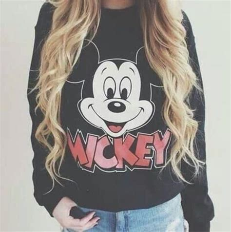 Sweater Hoodie Mickey Fashion Wanita Murah the and you wardrobe must haves for winters