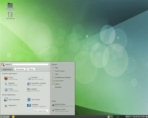 suse themes gnome what do you think about opensuse linux