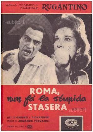 roma fa la stupida stasera testo roma non fa la stupida stasera nino manfredi lea posot class
