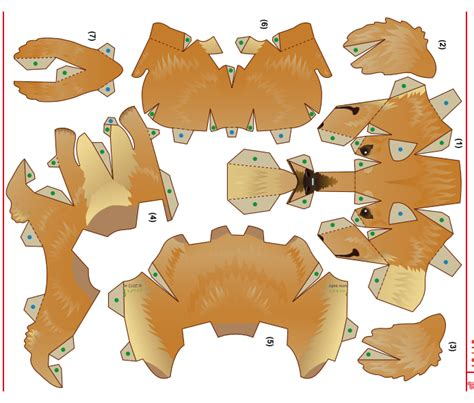 animal paper crafts templates dachshund template formas dachshunds