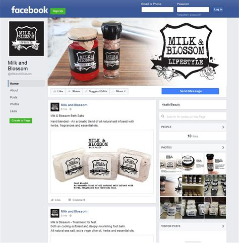 design milk facebook web design social media management speech bubble creative