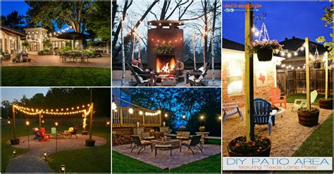 Amazing Outdoor String Lights That You Will Love String Light Post