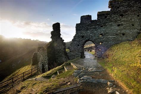Tintagel Castle Bridge Contest, Cornwall - e-architect