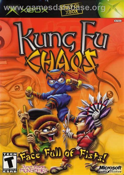 Kaos Black Panda kung fu chaos microsoft xbox database