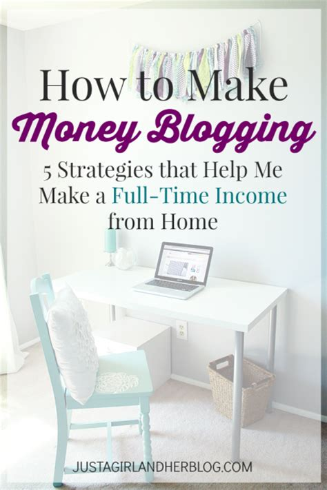 how to make money blogging 5 strategies that help me make