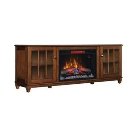 Low Profile Electric Fireplace by Home Decorators Collection Westcliff 66 In Low Boy Media