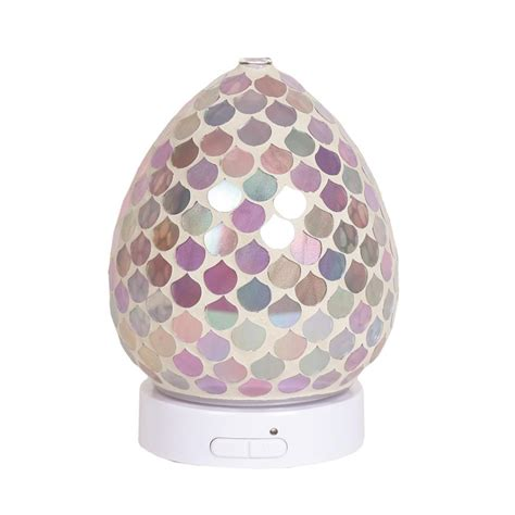 pink droplet led ultrasonic electric essential oil