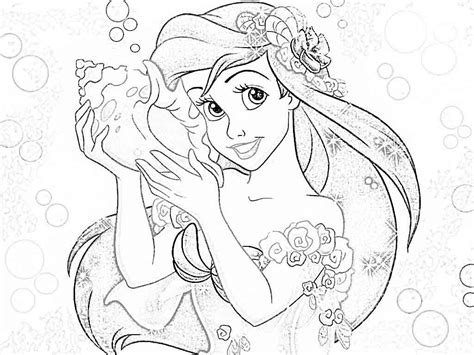 coloring pages for adults princess disney princesses coloring pages ariel coloring home