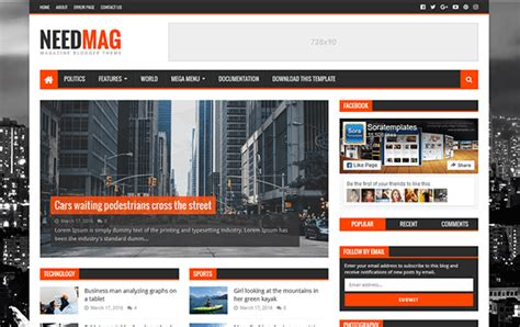 templates for blogger sports btemplates