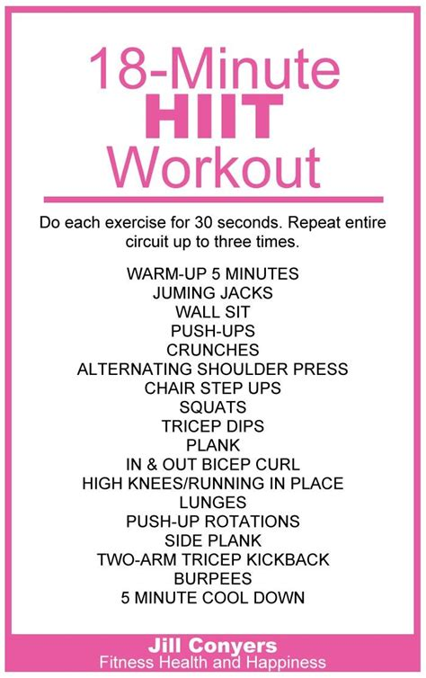 78 best ideas about hiit workout at home on at