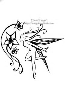 34 fairy tattoos stencils