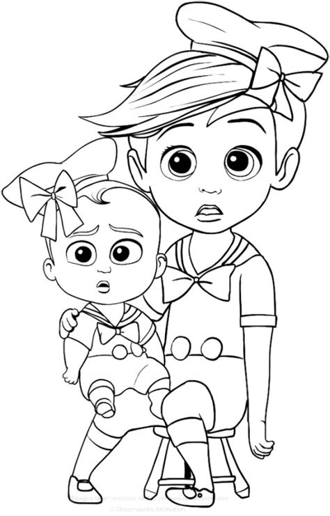 boss baby 2 like a boss president coloring pages printable the boss baby coloring pages coloring pages