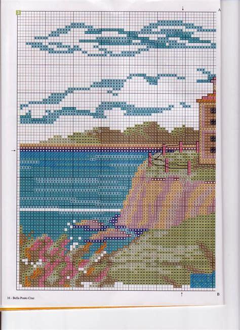 schemi punto croce per cuscini cuscino punto croce casa sul mare 3 magiedifilo it
