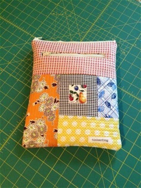 Quilt As You Go Bag by Quilt As You Go Bag Pouch Tutorials