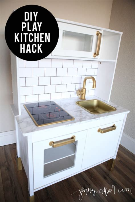 17 best images about diy play kitchen on pinterest stove diy ikea play kitchen hack 187 jenny collier blog