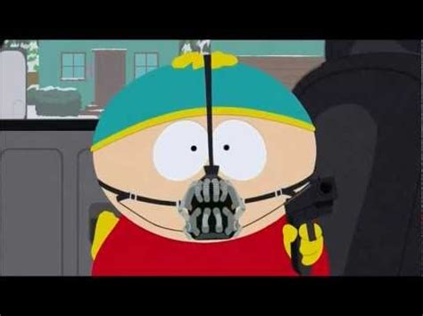 cartman bane impersonation