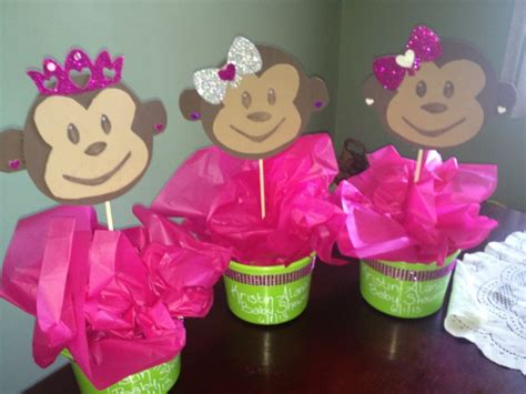 Pink Monkey Baby Shower Decorations by Monkey Baby Shower Ideas Baby Shower For Parents